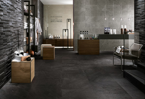 Trek Ocean Black by Atlas Concorde | Floor tiles