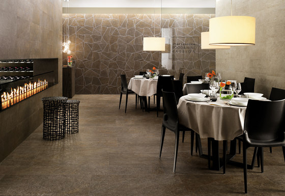 Trek Forest Brown by Atlas Concorde | Floor tiles