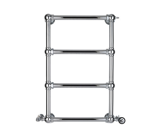 Wall to wall Towel rail by Drummonds | Towel warmers