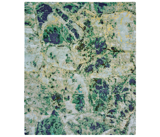Sliced | Emerald von Jan Kath | Formatteppiche