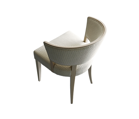 Hera chair by Billiani | Visitors chairs / Side chairs