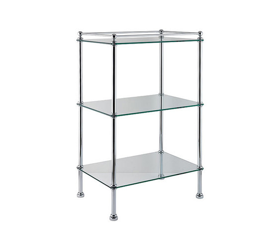 Glass Stand by Drummonds | Bath shelving
