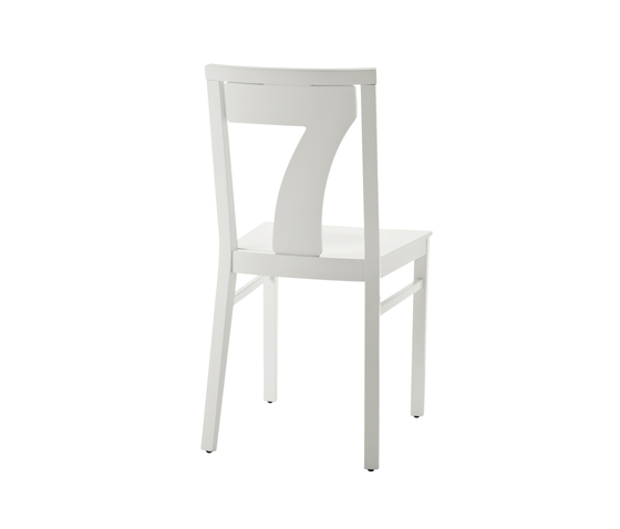 Numbers chair by Billiani | Restaurant chairs