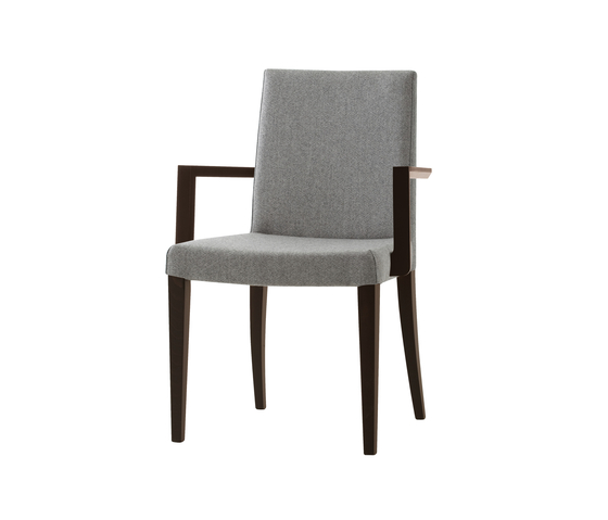 Plaza chair with armrests de Billiani | Sillas para restaurantes