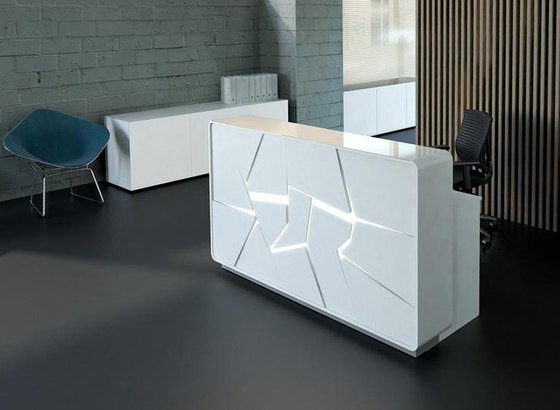 Arctic Summer by MDD | Reception desks