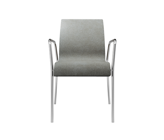 Pop chair with armrests by Billiani | Multipurpose chairs