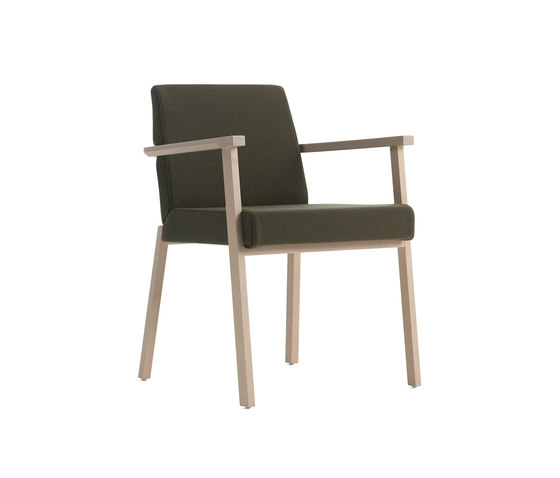 Braid chair with armrests by Billiani | Visitors chairs / Side chairs