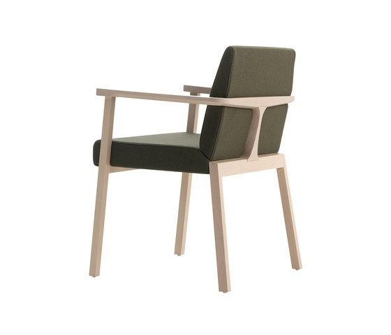 Braid chair with armrests de Billiani | Sillas de visita