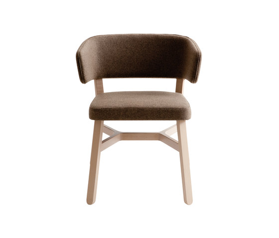 Croissant armchair by Billiani | Visitors chairs / Side chairs