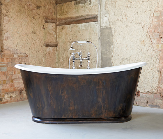 The Burnished Copper Usk by Drummonds | Free-standing baths