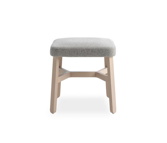 Croissant stool by Billiani | Ottomans