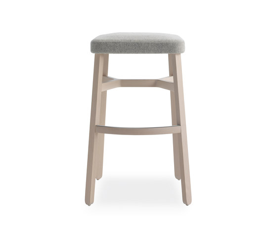 Croissant barstool by Billiani   Bar stools