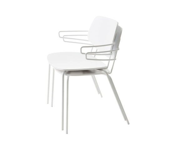 Doll chair with armrests by Billiani | Multipurpose chairs