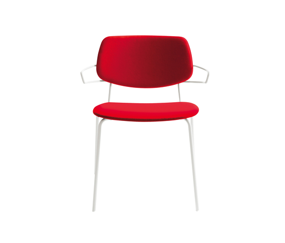 Doll chair with armrests de Billiani | Chaises polyvalentes