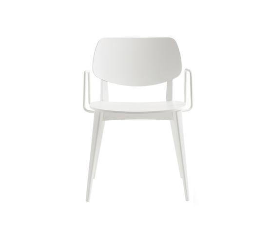 Doll chair with armrests de Billiani | Sillas