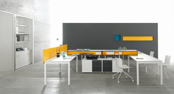 Work Up Workstation by Martex | 2-persons workstations