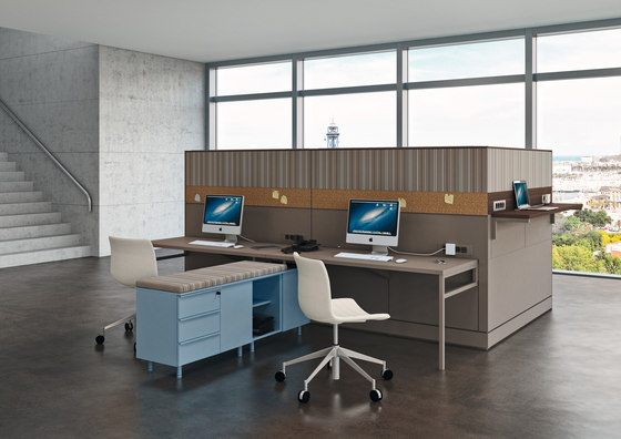 Te08 Partition by Martex | Desking systems