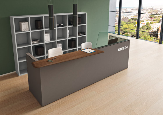 Te Reception by Martex | Reception desks