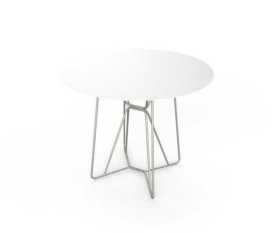 Slim Table 90 by Viteo | Dining tables