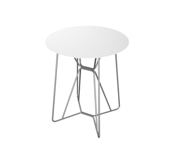 Slim Collection Dining | Table 64 by Viteo | Bistro tables