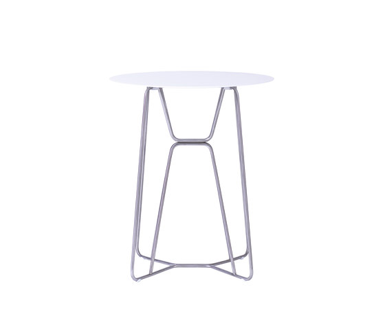 Slim Table 64 by Viteo | Bistro tables
