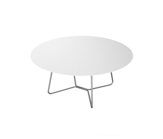 Slim Collection Lounge | Lounge Table 90 by Viteo | Coffee tables