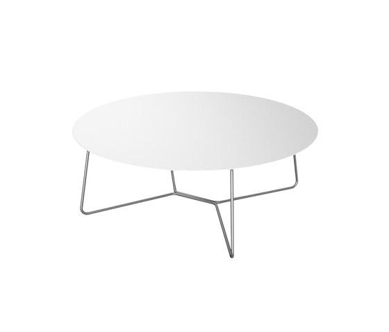 Slim Collection Lounge | Lounge Table 110 de Viteo | Tables basses