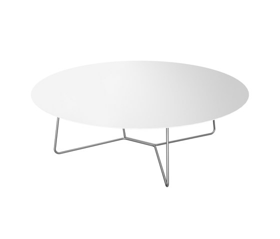 Slim Collection Lounge | Lounge Table 130 by Viteo | Coffee tables