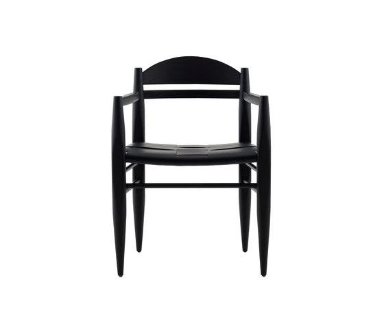 Vincent sedia con braccioli di Billiani | Sedie ristorante