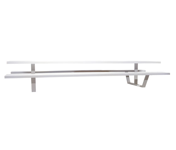 Cassecroute Table Aluminium by CASSECROUTE | Canteen tables