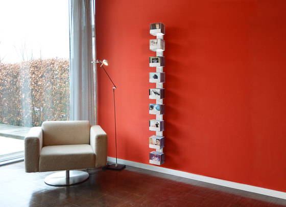 cd-baum single version wall by Radius Design | CD racks
