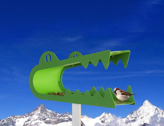 piepshow ali gator by Radius Design | Bird houses / feeders