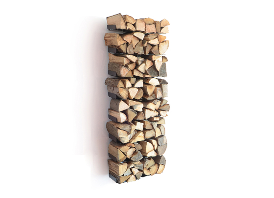 wooden tree wall big by Radius Design | Log holders