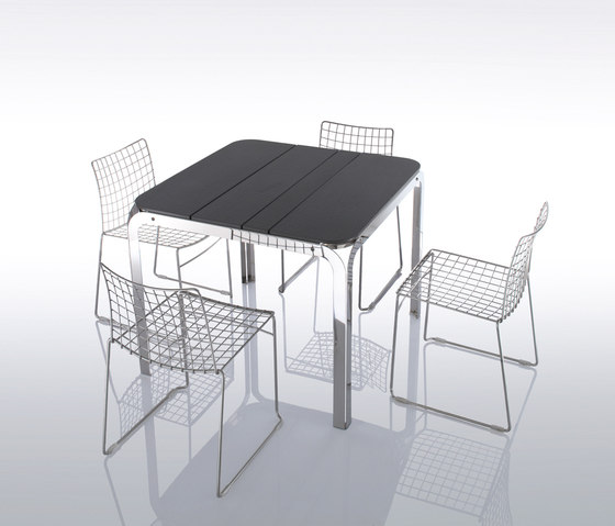 Bilbao Table de Forhouse | Tables à manger de jardin