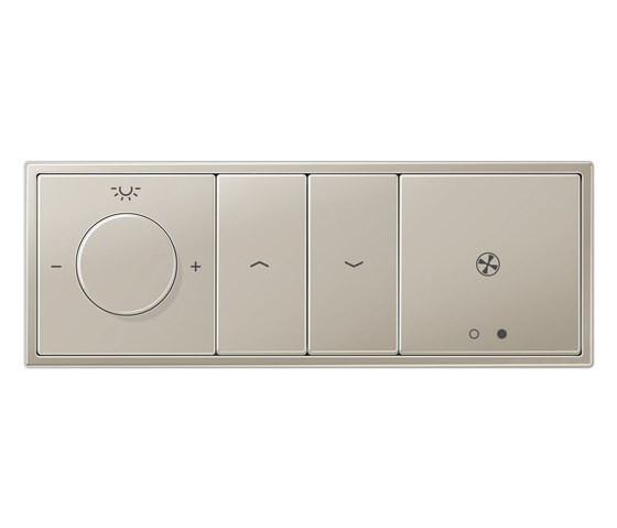 KNX LS 990 Rotary sensor Combination by JUNG | Lighting controls