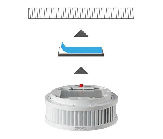 Warning smoke detectors de JUNG | Detectores de humo
