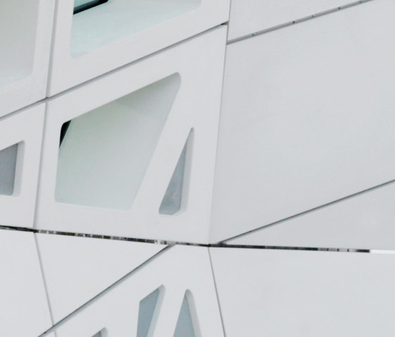 fibreC 3D by Rieder | Facade cladding