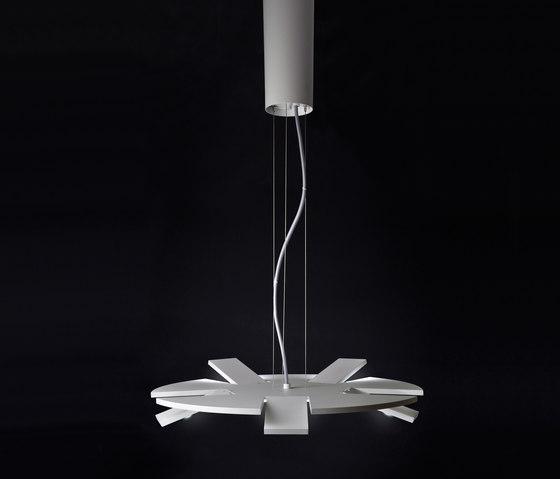 Rim S - suspended lamp by Bernd Unrecht lights | General lighting