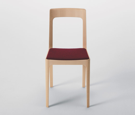 Hiroshima Armless Chair by MARUNI | Restaurant chairs