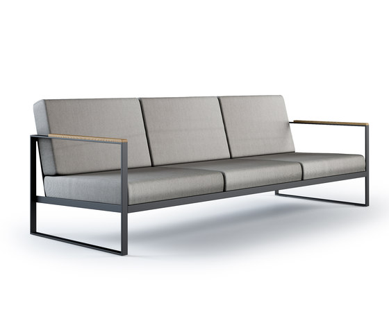 Garden Easy Sofa 3 seat by Röshults | Garden sofas