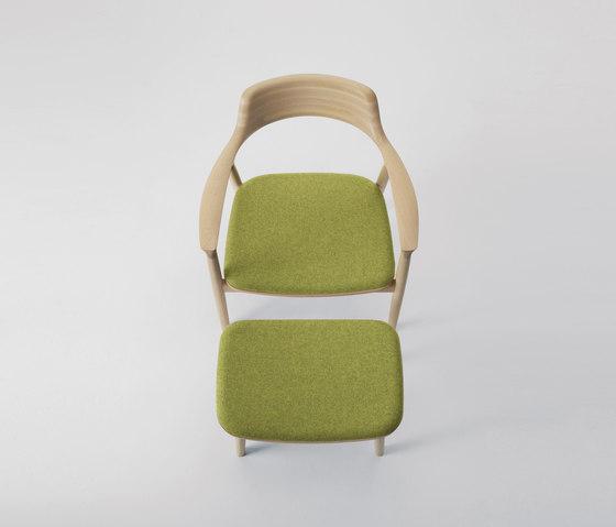 Hiroshima Lounge Chair de MARUNI | Fauteuils d'attente