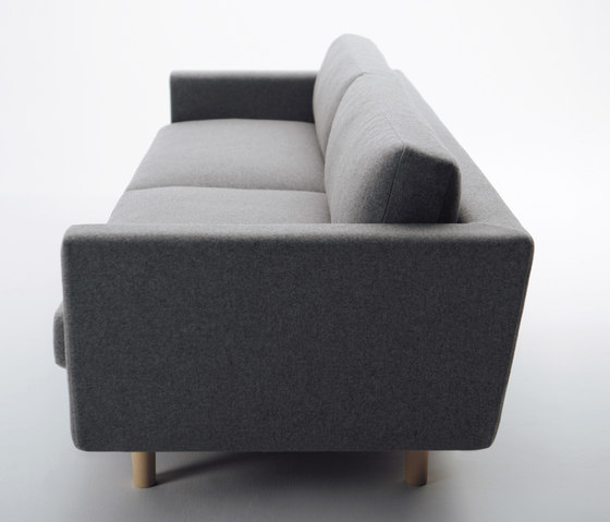 Hiroshima Three Seater Sofa by MARUNI | Sofas