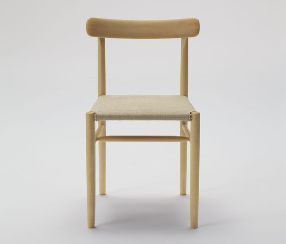 Lightwood Armless Chair (Cushioned) by MARUNI | Chairs