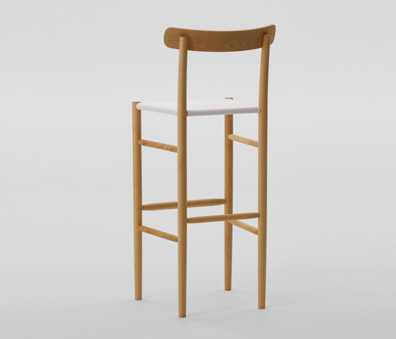 Lightwood Bar Stool High (Mesh Seat) by MARUNI | Bar stools