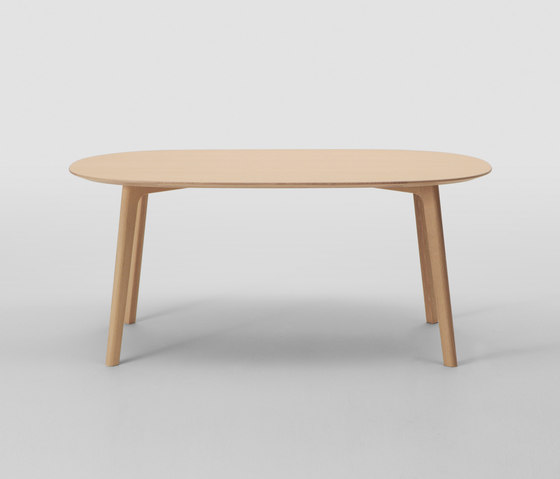 Roundish Table 240 (Oval) by MARUNI | Dining tables