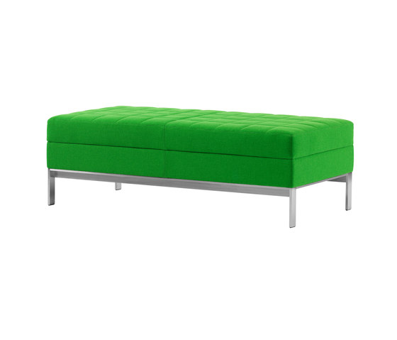 Millbrae Contract Two Seat Bench by Coalesse | Waiting area benches