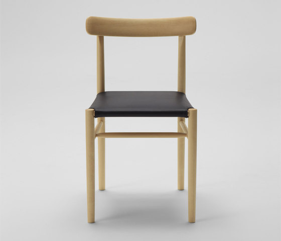 Lightwood Armless Chair by MARUNI | Chairs