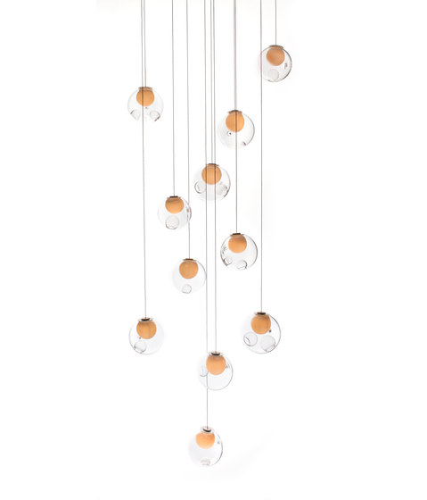 Series 28.11 random by Bocci | Suspended lights