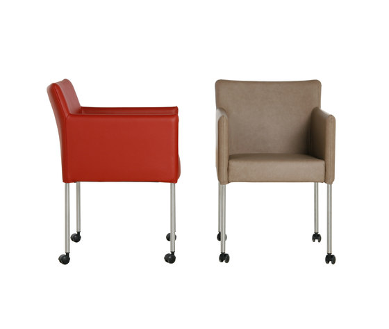 Tonio ES 6773 Chair by Gelderland | Visitors chairs / Side chairs