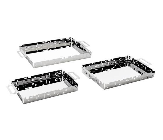 Citta vecchia tray x2 by Forhouse   Trays